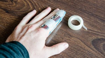 How to Tape a Sprained Thumb