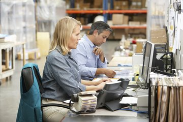 A logistics clerk must be capable of working unsupervised in a fast-paced environment.