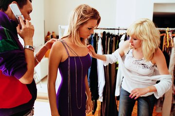 Work at the haute couture department at major fashion labels.