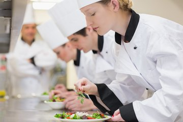 Many food critics have honed their skills with a culinary arts background.