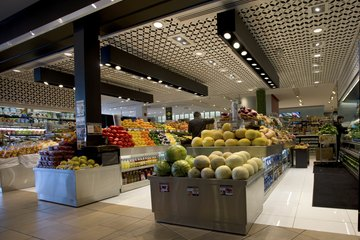 Grocery stores offer many different services.