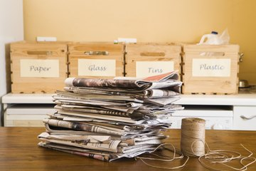 Many resumes are made from recycled paper.