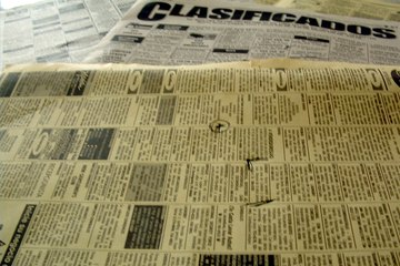 Candidates will find job postings both in newspaper classifieds and on online job boards.