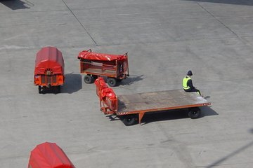 Baggage handling and fueling are below-the-wing work