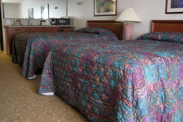 Guestroom attendants ensure that every guestroom is spotless.