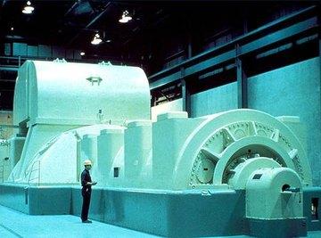 A power plant generator
