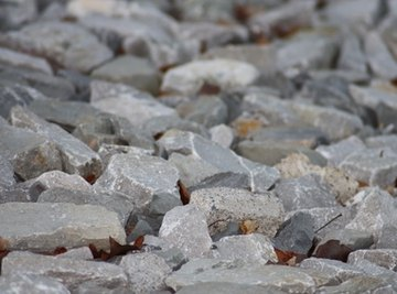 The three basic types of rocks are igneous, sedimentary and metamorphic
