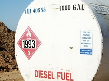 Diesel fuel standards changed over time.