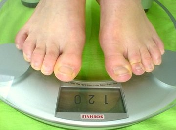 Digital scales are calibrated to produce accurate readings.