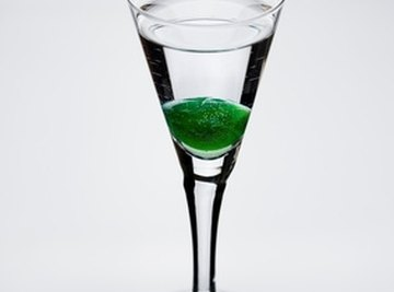 Liven up a vodka drink with dry ice.