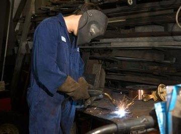 Proper safety procedures help prevent welding injuries.