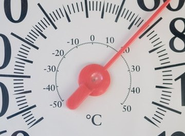 You can calculate the temperature in Celsius, even with a Fahrenheit thermometer.