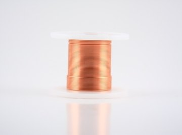 Copper wire is widely used in the construction of electrical components.