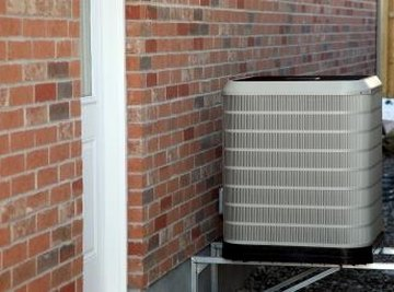 Trane air-conditioner heat pumps both heat and cool a home.