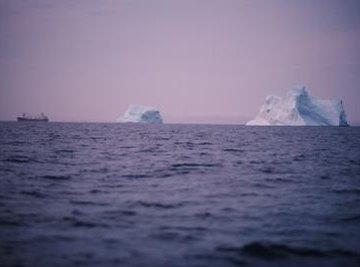 Deep ocean currents originate in cold arctic regions.