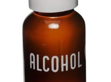 An isopropyl group is the base structure of isopropyl alcohol.