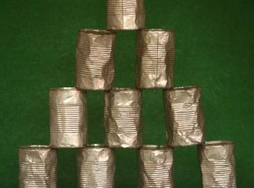 Cans are perhaps the most well-known use for tin.