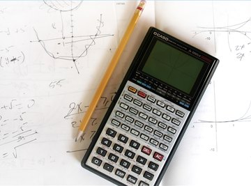 Using your calculator to help solve systems of linear equations.