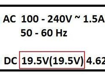 Find the volts under Output