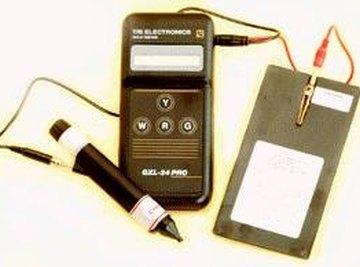 Electronic gold/platinum tester