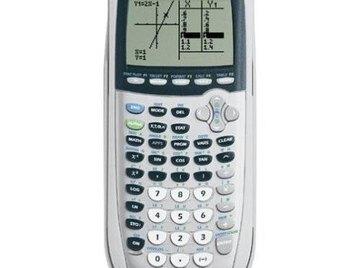 Graph with a Ti 84 Calculator