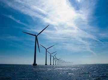 Middelgrunden windmills outside Copenhagen.