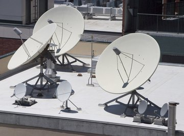 You can build a simple radio telescope from a satellite dish and a satellite signal strength meter.