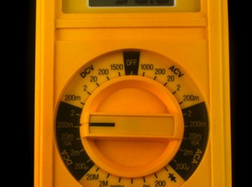 A digital multimeter can be used to test SCRs.