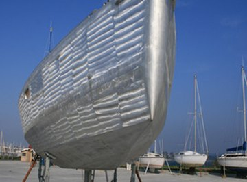 Magnesium and aluminum can be found on the hulls of boats or airplane wings.