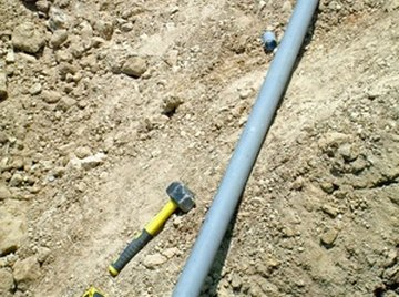 PVC pipe is suitable for drinking-water systems.