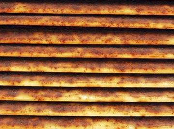 Air scrubbers remove particulate matter.