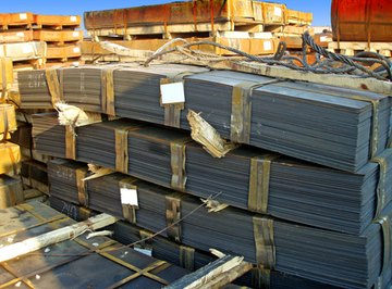 Q345B is a common sheet steel used for making shipping containers, cars, and lots of consumer items.