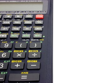 A calculator with statistics functions can help you determine audit sample sizes.