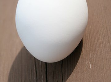 It is fun and easy to make an egg bounce.