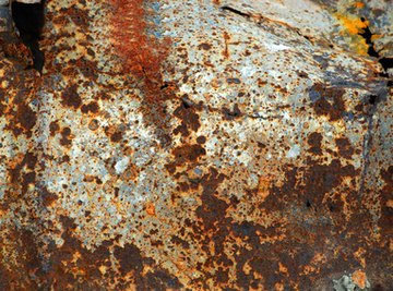 Rust pits and corrodes metal parts.