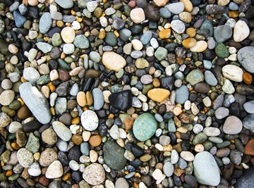 There are several ways to tell the difference between rocks and minerals.
