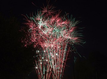 Barium sulphate is used in fireworks.