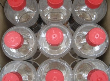 Empty plastic bottles can become rocket engines for toy cars with vinegar and baking soda.