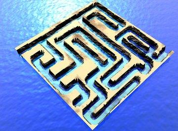 A mouse maze is a fun idea for a science fair.