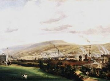 The Industrial Revolution in Wales during the 19th century