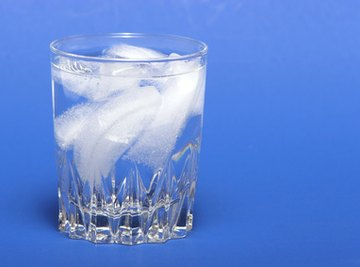 Determine the effects of salt on ice with science experiments.