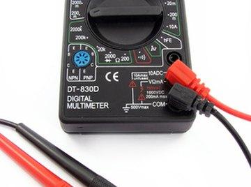 Conductivity meters measure electrical resistance.