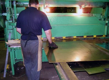 Metal and plastic sheets are categorized by gauge number.