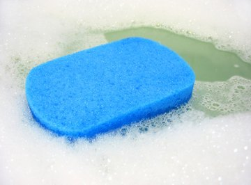 Hard water prevents soap from foaming up properly.