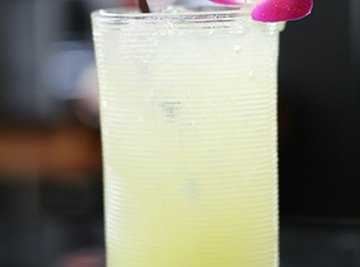 Beyond its practical applications, lemon juice is also a part of refreshing summer drinks.
