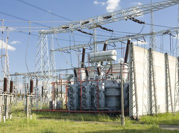 Transformers are used to increase or decrease voltage.