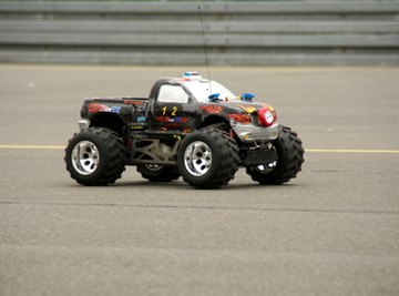 The kind of RC vehicle that can be made solar-powered