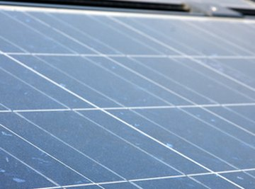 Solar panels produce electricity without releasing carbon emissions.
