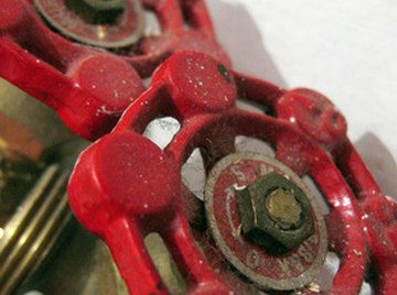 A faucet handle is an example of a simple flow control valve.
