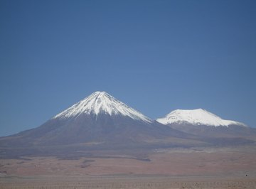 Volcanoes are beautiful and majestic ground formations.